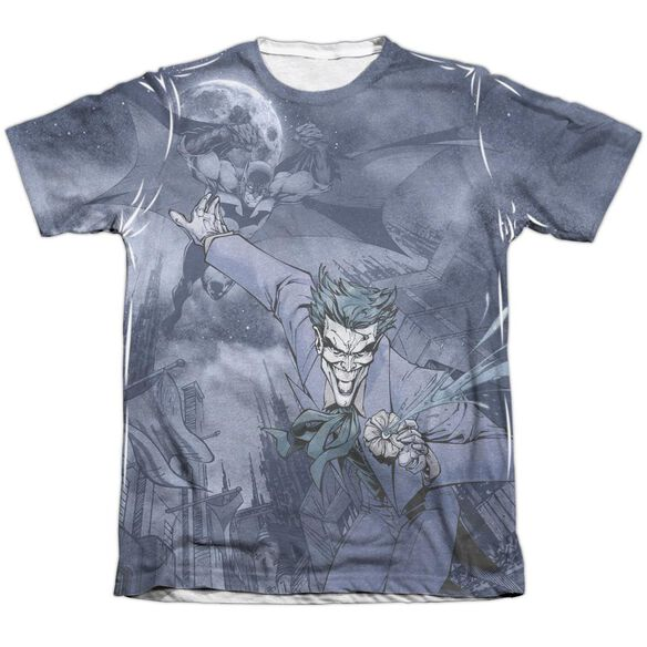 Batman Catch The Joker Adult 65 35 Poly Cotton Short Sleeve Tee T-Shirt