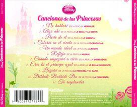 Various Artists - Canciones de La Princesas