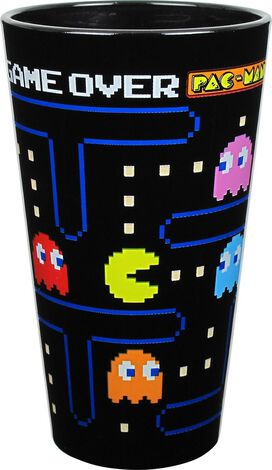Pacman and Ghosts Pint Glass Set