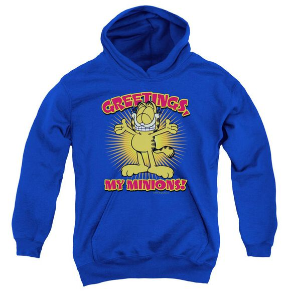 Garfield Minions Youth Pull Over Hoodie