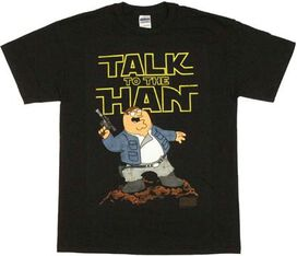 Family Guy Han Solo T-Shirt