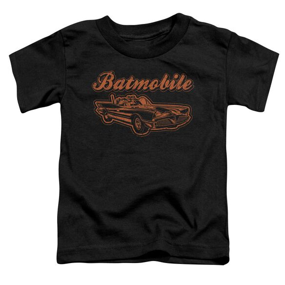 Batman Batmobile Short Sleeve Toddler Tee Black Lg T-Shirt