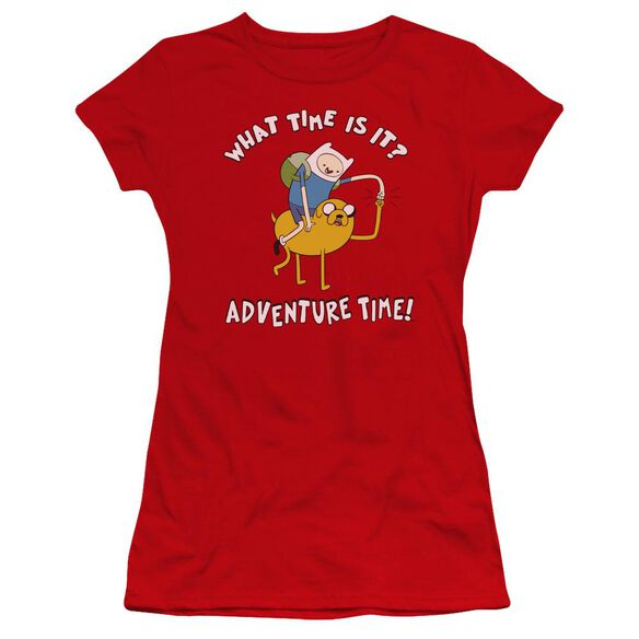 Adventure Time Ride Bump Hbo Short Sleeve Junior Sheer T-Shirt
