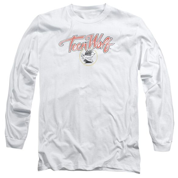Teen Wolf Poster Logo Long Sleeve Adult T-Shirt