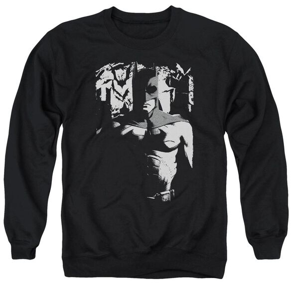 Batman Begins Birth Of Knight Adult Crewneck Sweatshirt