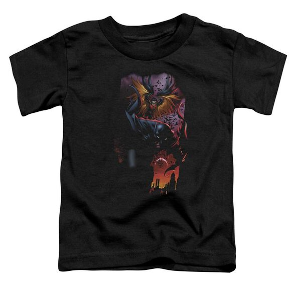 Batman Batman & Robin #1 Short Sleeve Toddler Tee Black Sm T-Shirt