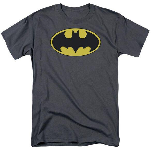 Batman Classic Bat Logo Short Sleeve Adult T-Shirt
