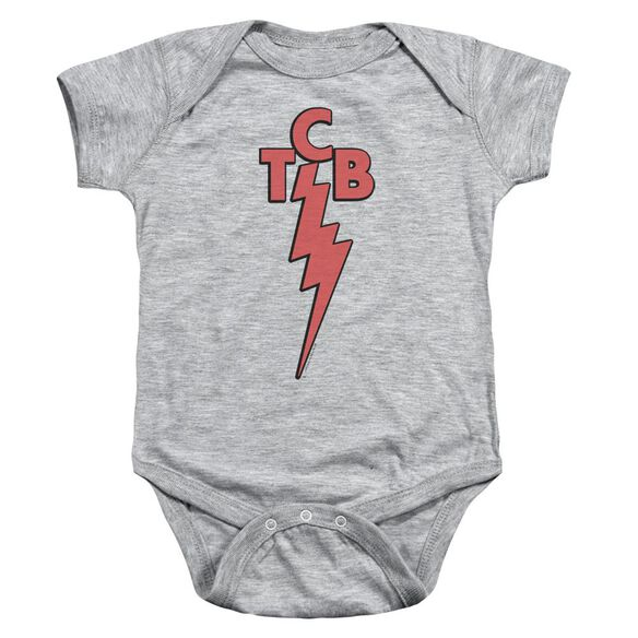 Elvis Tcb Infant Snapsuit Athletic Heather