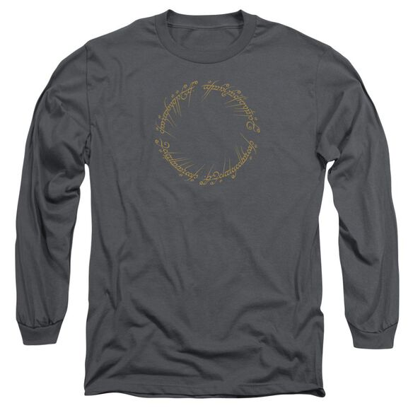 Lord Of The Rings One Ring Long Sleeve Adult T-Shirt