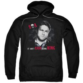 Sons Of Anarchy Being King Adult Pull Over Hoodie