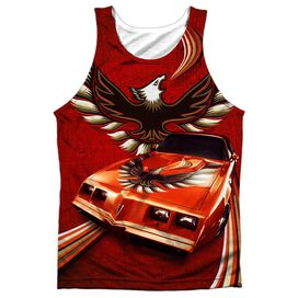 Pontiac Firebird Flames Adult Poly Tank Top