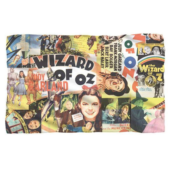 Wizard Of Oz Collage Woven Throw