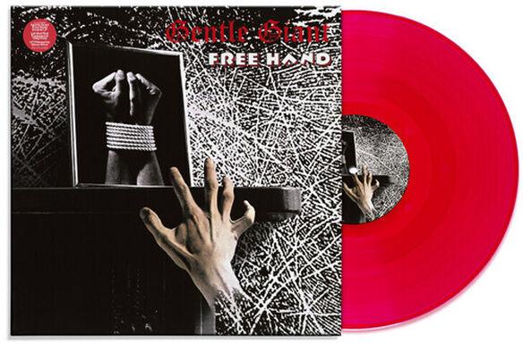Gentle Giant - Free Hand (Steven Wilson Mix Red Vinyl)