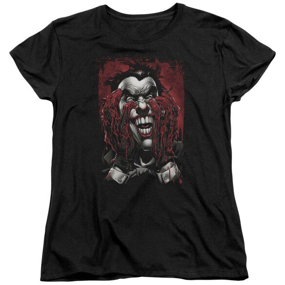 Batman Blood In Hands Short Sleeve Womens Tee T-Shirt