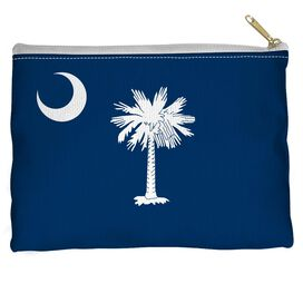 South Carolina Flag Accessory Pouch