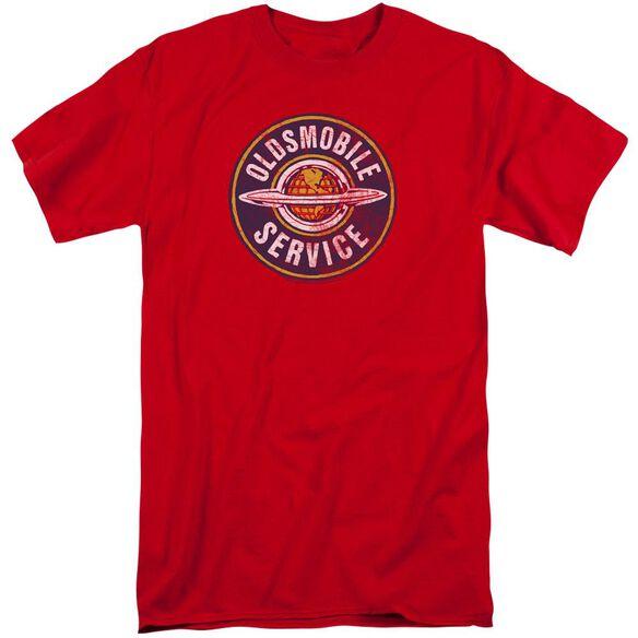 Oldsmobile Vintage Service Short Sleeve Adult Tall T-Shirt
