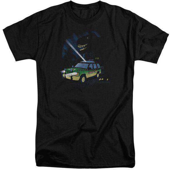 Jurassic Park Turn It Off Short Sleeve Adult Tall T-Shirt