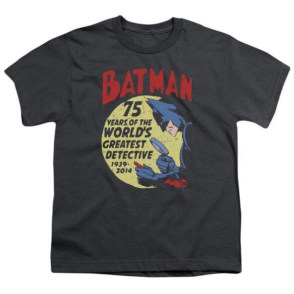 Batman Detective 75 Short Sleeve Youth T-Shirt
