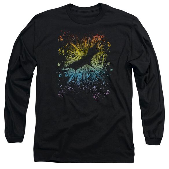 Dark Knight Rises Coming At You Long Sleeve Adult T-Shirt