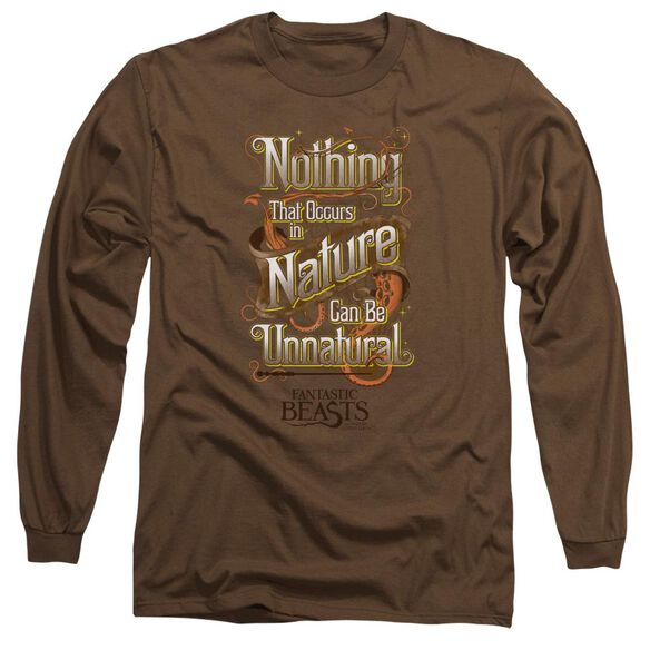 Fantastic Beasts Unnatural Long Sleeve Adult T-Shirt