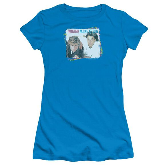 Wham Make It Big Short Sleeve Junior Sheer T-Shirt