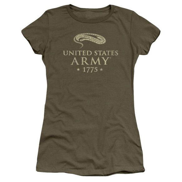 Army We'll Defend Short Sleeve Junior Sheer Military T-Shirt