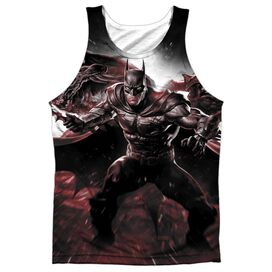 Infinite Crisis Ic Batman Adult 100% Poly Tank Top