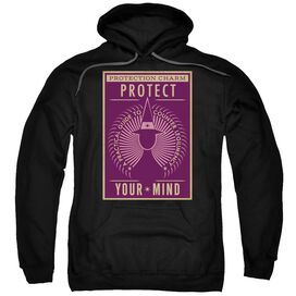 Fantastic Beasts Protect Your Mind Adult Pull Over Hoodie