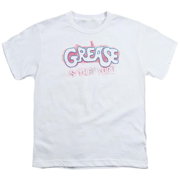 Grease Grease Is The Word Short Sleeve Youth T-Shirt