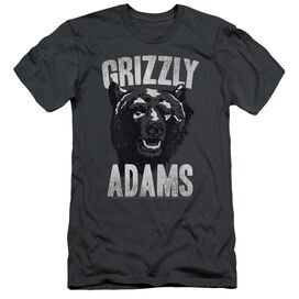 Grizzly Adams Retro Bear Short Sleeve Adult T-Shirt
