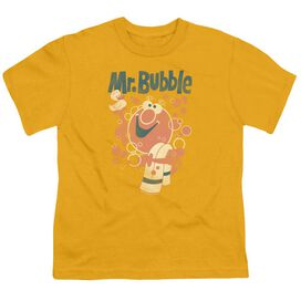 Mr Bubble Towel And Duckie Short Sleeve Youth T-Shirt