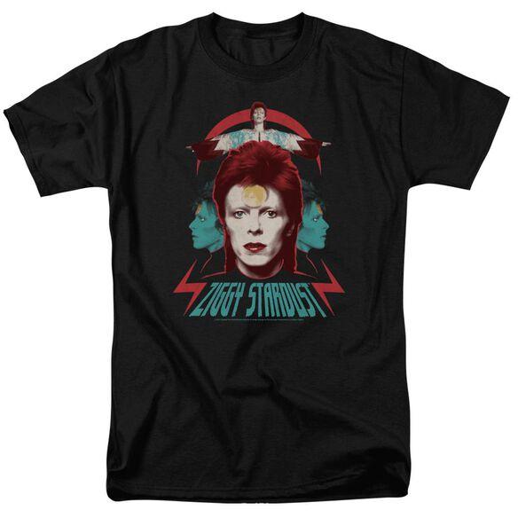 David Bowie Ziggy Heads Short Sleeve Adult T-Shirt