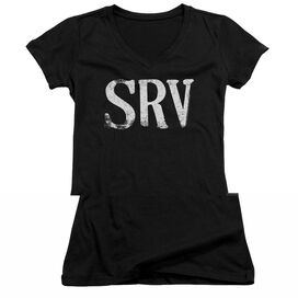 Stevie Ray Vaughan Srv Junior V Neck T-Shirt
