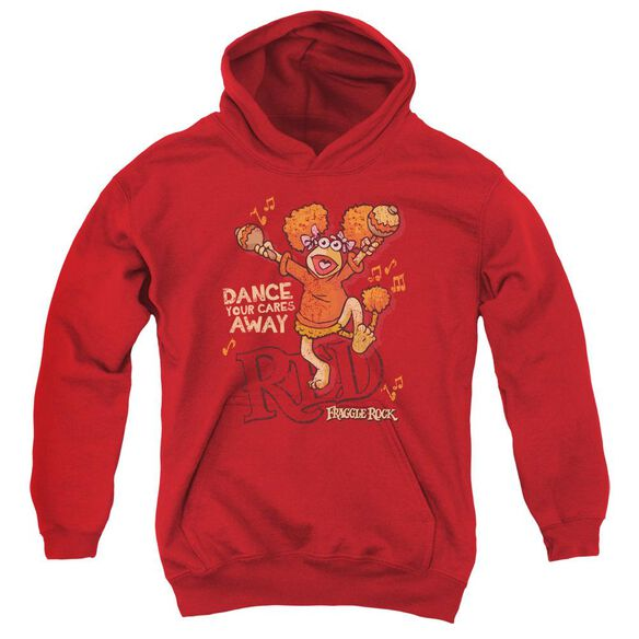 Fraggle Rock Dance Youth Pull Over Hoodie