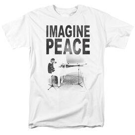 John Lennon Imagine Short Sleeve Adult T-Shirt