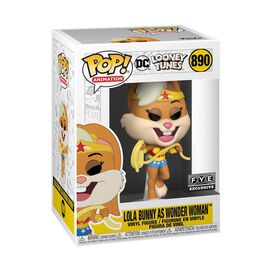 Funko Pop! DC Looney Tunes: Lola Bunny as Wonder Woman