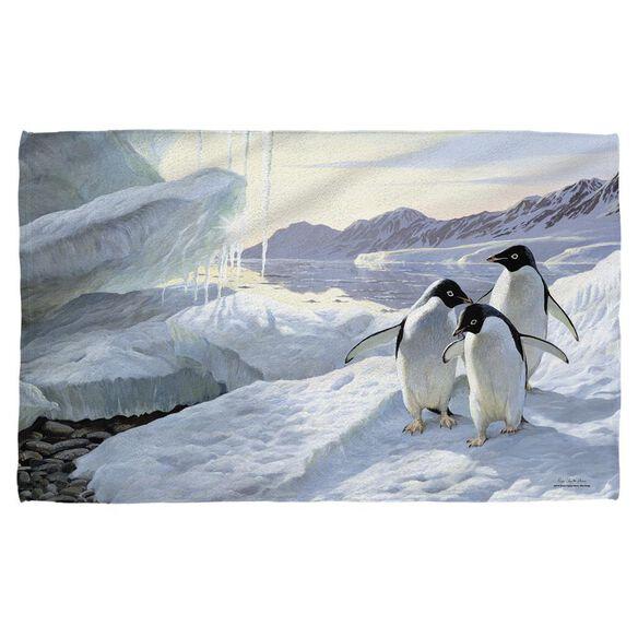 Wild Wings Penguins 2 Beach Towel