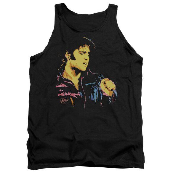 Elvis Neon Elvis Adult Tank