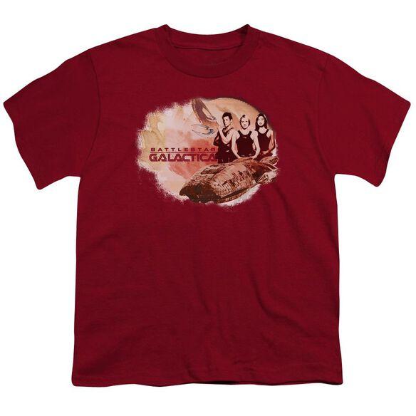 Bsg Galactica Pilots Short Sleeve Youth T-Shirt