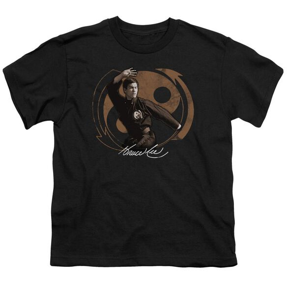 Bruce Lee Jeet Kun Do Pose Short Sleeve Youth T-Shirt