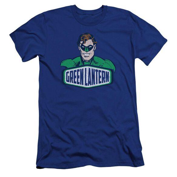Dco Green Lantern Sign Premuim Canvas Adult Slim Fit Royal