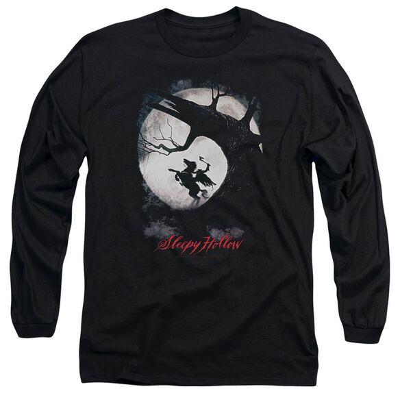 Sleepy Hollow Poster Long Sleeve Adult T-Shirt