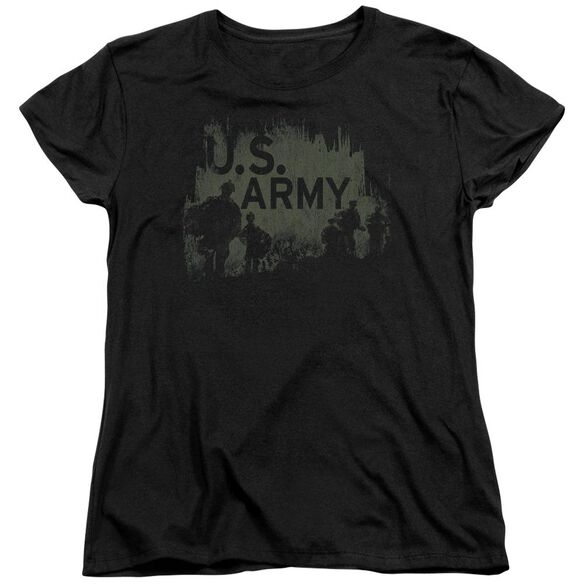 Army Soldiers Short Sleeve Womens Tee T-Shirt