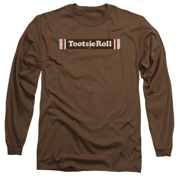 Tootsie Roll Tootsie Roll Logo Long Sleeve Adult T-Shirt