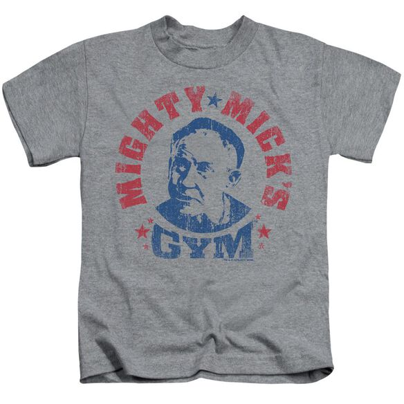 Rocky Mighty Micks Gym Short Sleeve Juvenile Heather T-Shirt