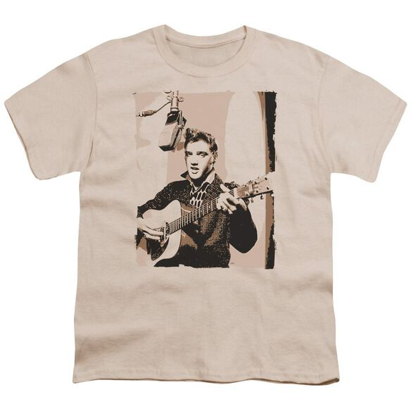 Elvis Sepia Studio Short Sleeve Youth T-Shirt