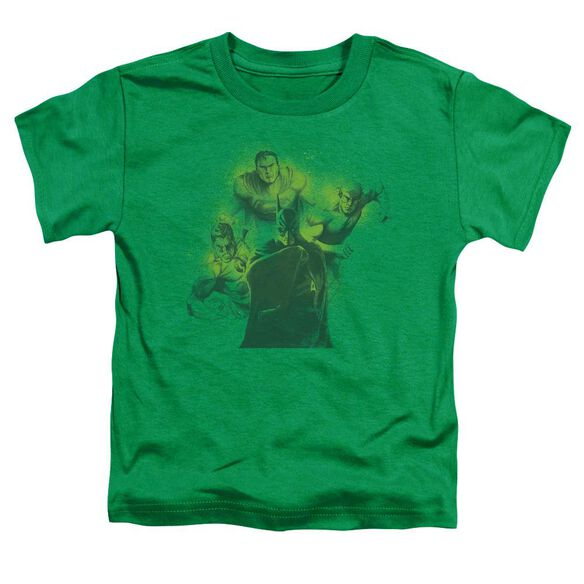 Dco Spray Sketch League Short Sleeve Toddler Tee Kelly Green Lg T-Shirt