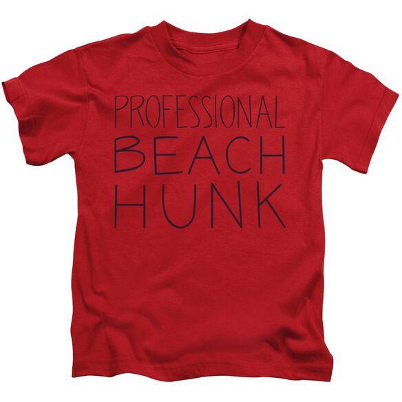 Steven Universe Beach Hunk Short Sleeve Juvenile Red T-Shirt