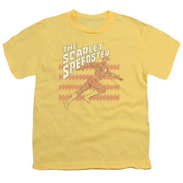 Dc Flash Scarlet Speedster Short Sleeve Youth T-Shirt