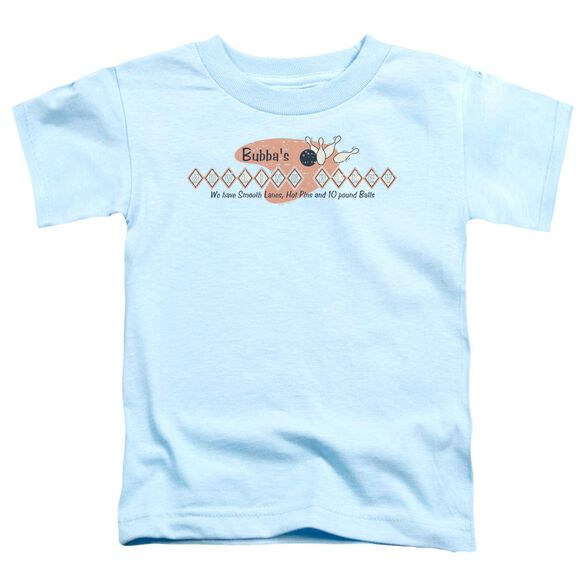 BUBBAS BOWLING ALLEY - TODDLER TEE - LIGHT BLUE - T-Shirt